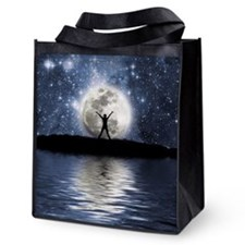 Between Heaven And Earth Reusable Grocery Tote Bag
