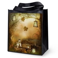 Fairytale Forest Reusable Grocery Tote Bag