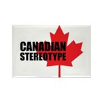 Canadian stereotype Rectangle Magnet (10 pack)