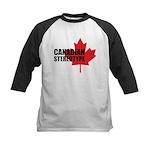 Canadian stereotype Kids Baseball Jersey