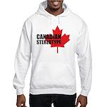 Canadian stereotype Hooded Sweatshirt