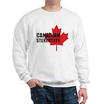 Canadian stereotype Sweatshirt