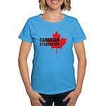 Canadian stereotype Women's Dark T-Shirt