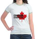 Canadian stereotype Jr. Ringer T-Shirt