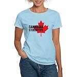 Canadian stereotype Women's Light T-Shirt
