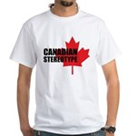 Canadian stereotype White T-Shirt