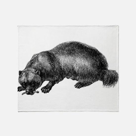 Wolverine Throw Blanket