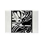 Abstract Rectangle Magnet (10 pack)