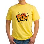 POW! Yellow T-Shirt