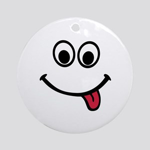 Smiley Ornament (Round)