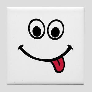 Smiley Tile Coaster