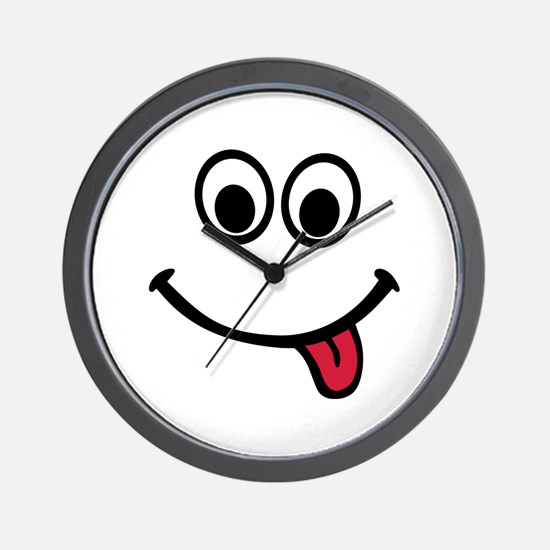 Smiley Wall Clock