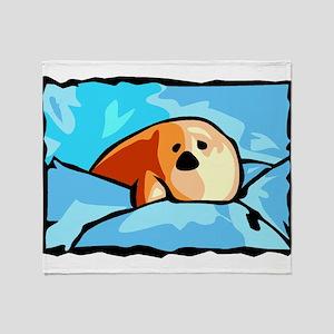 Seal drawing Throw Blanket