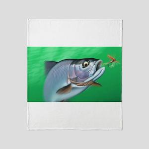 Fishing Throw Blanket