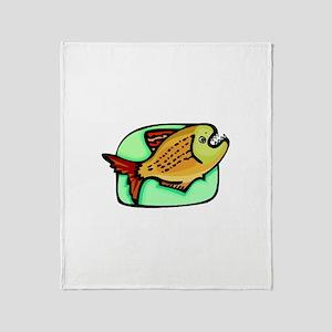 Piranha Throw Blanket