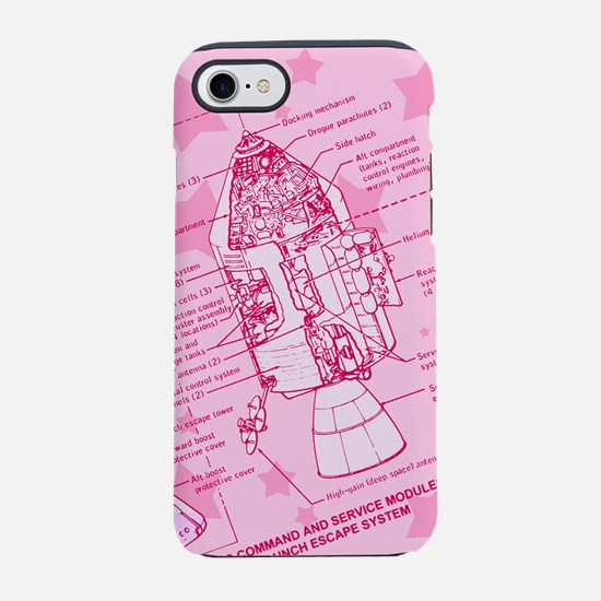 space-capsule-pink_b.png iPhone 7 Tough Case