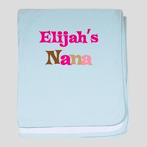 Elijah's Nana baby blanket