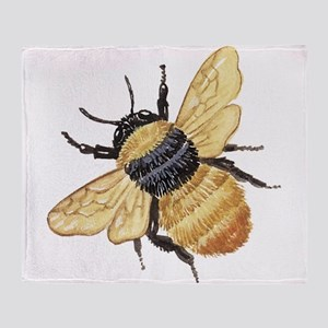 Bumble Bee Throw Blanket