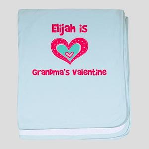 Elijah is Grandma's Valentine baby blanket