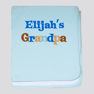 Elijah's Grandpa baby blanket