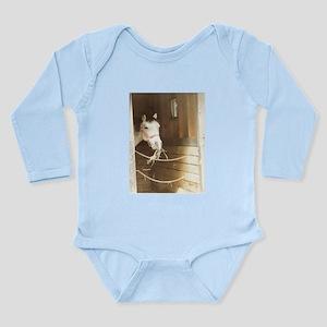 Country Horse Long Sleeve Infant Bodysuit