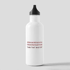 GOOD FRIEND, BEST FRIEND Stainless Water Bottle 1.