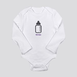 Golf - 19th Hole - Long Sleeve Bodysuit (Purple)