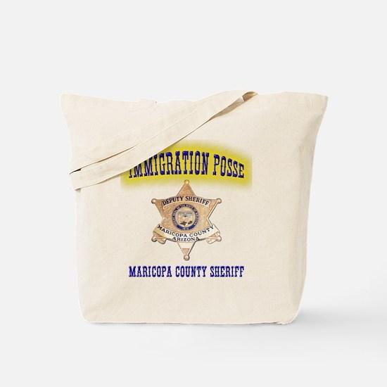 Maricopa Immigration Posse Tote Bag
