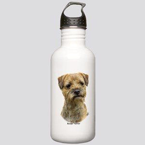 Border Terrier 9A21D-19 Stainless Water Bottle 1.0