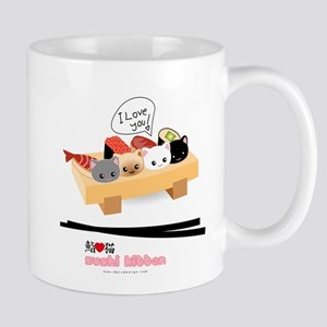 sushi kitten Mug