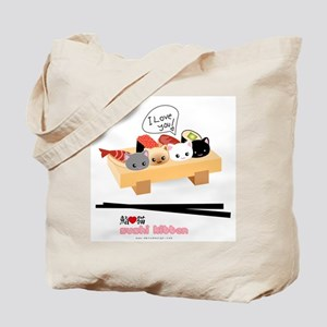 sushi kitten Tote Bag