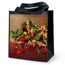 Christmas Decor Reusable Grocery Tote Bag