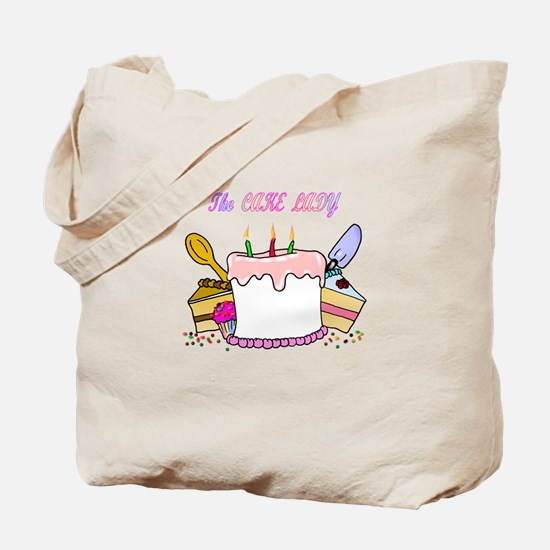 The Cake lady Tote Bag