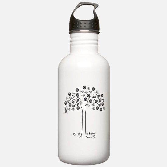 be the tree Water Bottle