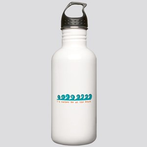 I'd rather be at the beach Stainless Water Bottle