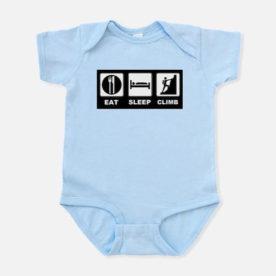 eat seep climb Infant Bodysuit