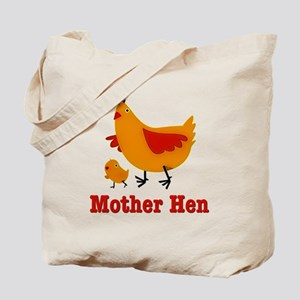 Mother Hen Chicken Tote Bag