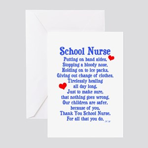 School Nurse Greeting Cards (Pk of 20)