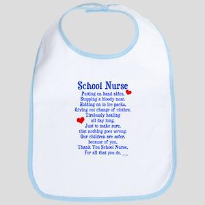 School Nurse Bib