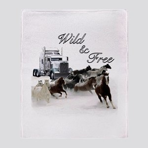 Wild & Free Throw Blanket