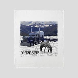 Majestic Throw Blanket