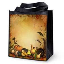 Thanksgiving Reusable Grocery Tote Bag