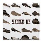 Saddle Up Tile Coaster