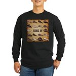 Saddle Up Long Sleeve Dark T-Shirt