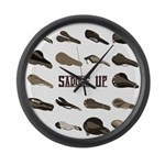 Saddle Up Large Wall Clock