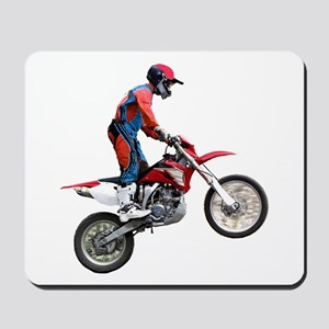 Helaine's Dirt Cycle Mousepad