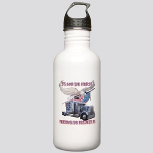 In God We Trust Stainless Water Bottle 1.0L