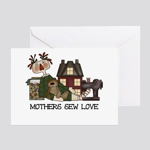 Mothers Sew Love Greeting Cards (Pk of 10)