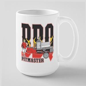 BBQ Pit master Large Mug