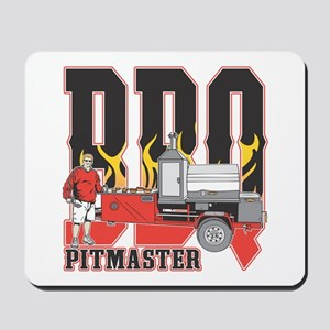 BBQ Pit master Mousepad